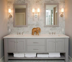 Bathroom Vanity Outlets Double Sinks Should Have Separate To Reduce The Hazard Of Crossing Cords Over Water