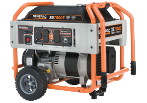 Generac's XG Series Portable Generators
