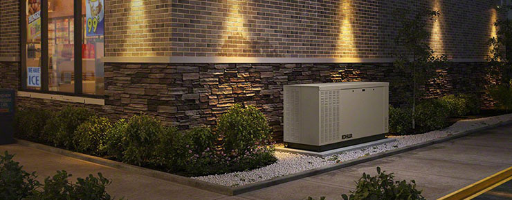 Innovative Electrical's page about Kohler residential and commercial generators