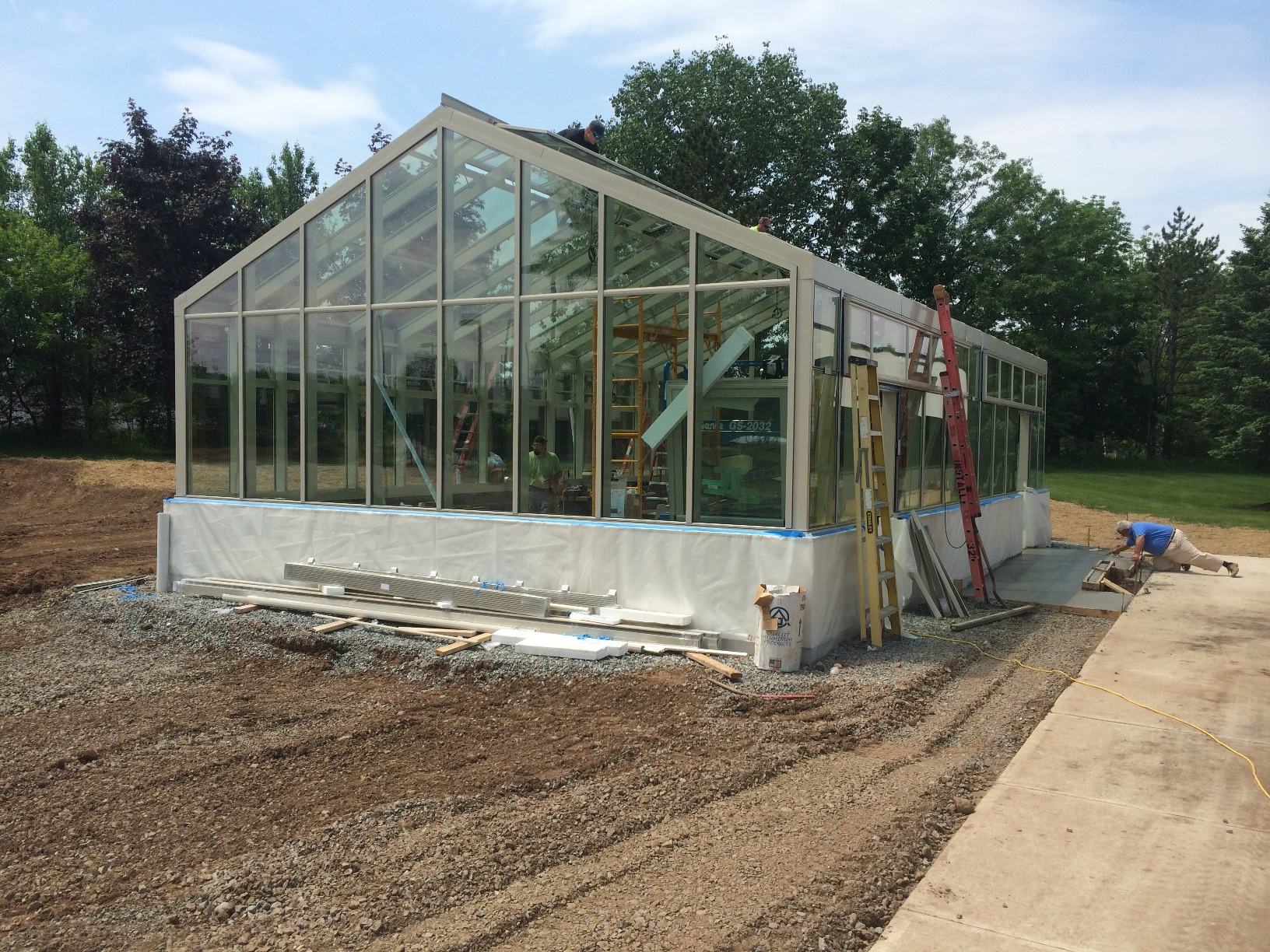 Lighting and Electric for a Greenhouse at The TCI School in Livingston, NJ
