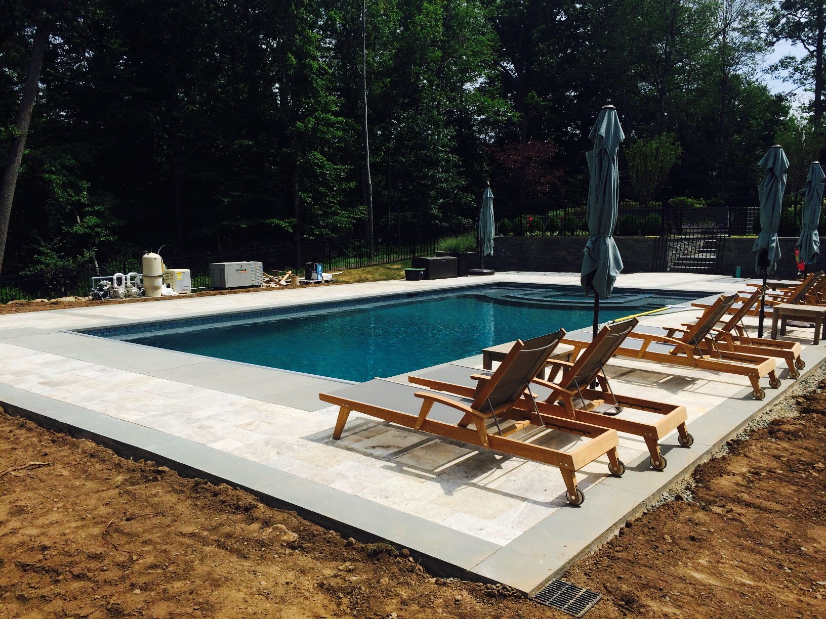 Pool Installation & 27kw Generac Residential Generator - Livingston, NJ