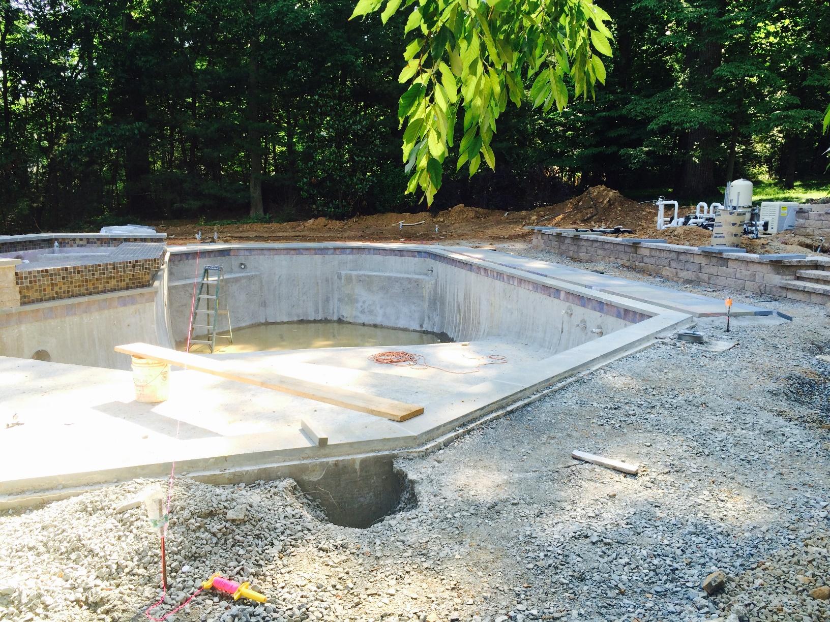Pool Renovation - Watchung, NJ