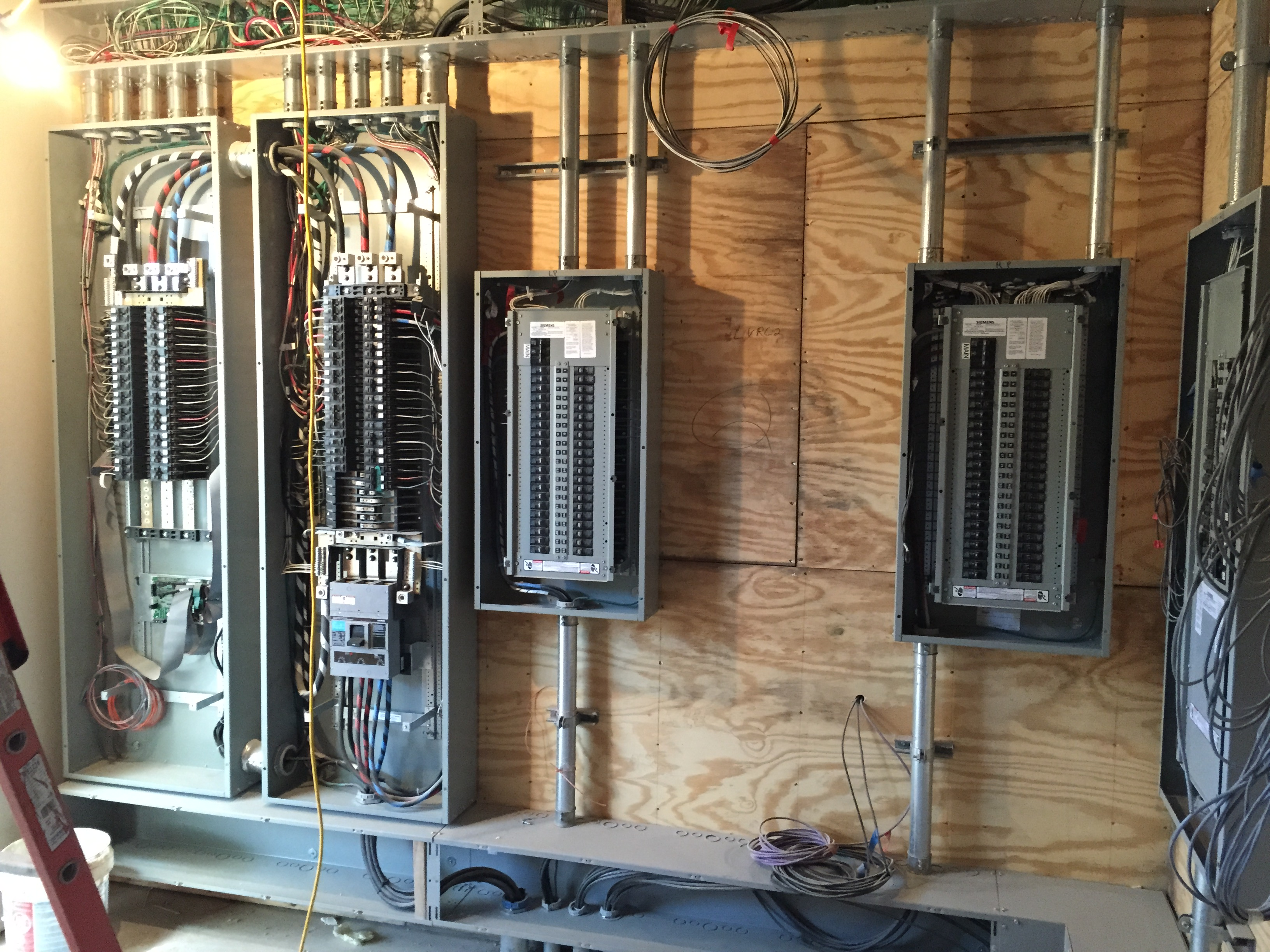 Commercial Electric Innovative Electrical Contracting Your Wiring Systems Distribution Sub Panels At The Willow School In Gladstone Nj
