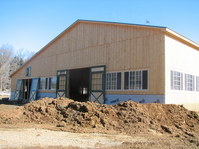 Electric panel installation for a new barn - Mendham, NJ