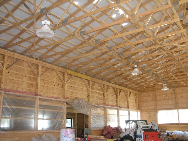 Electrical wiring for a new barn - Mendham, NJ
