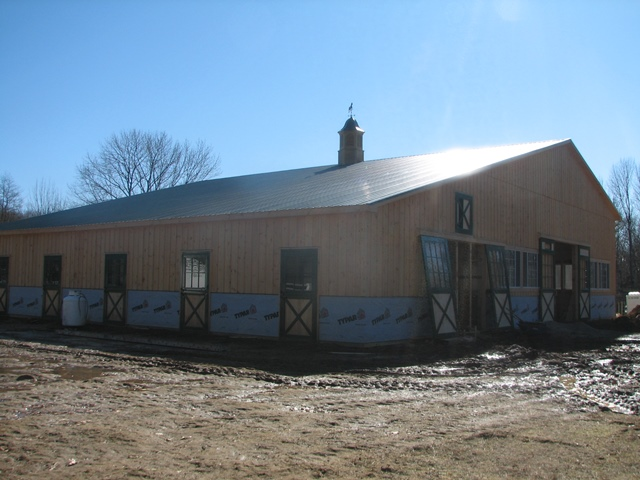 Electrical Wiring for a Barn - Mendham, NJ