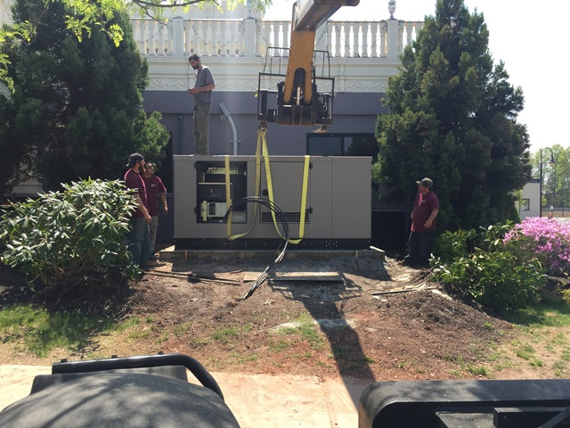 Installation of a 150kw Kohler Generator - Bridgewater, NJ