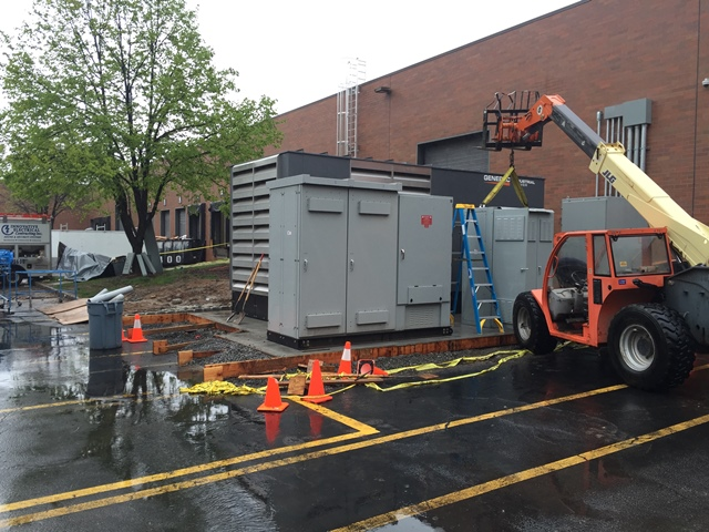 Installation of Generator Switchgear for 1 Meg ( 1000kw ) Generac Generator - Fairfield, NJ
