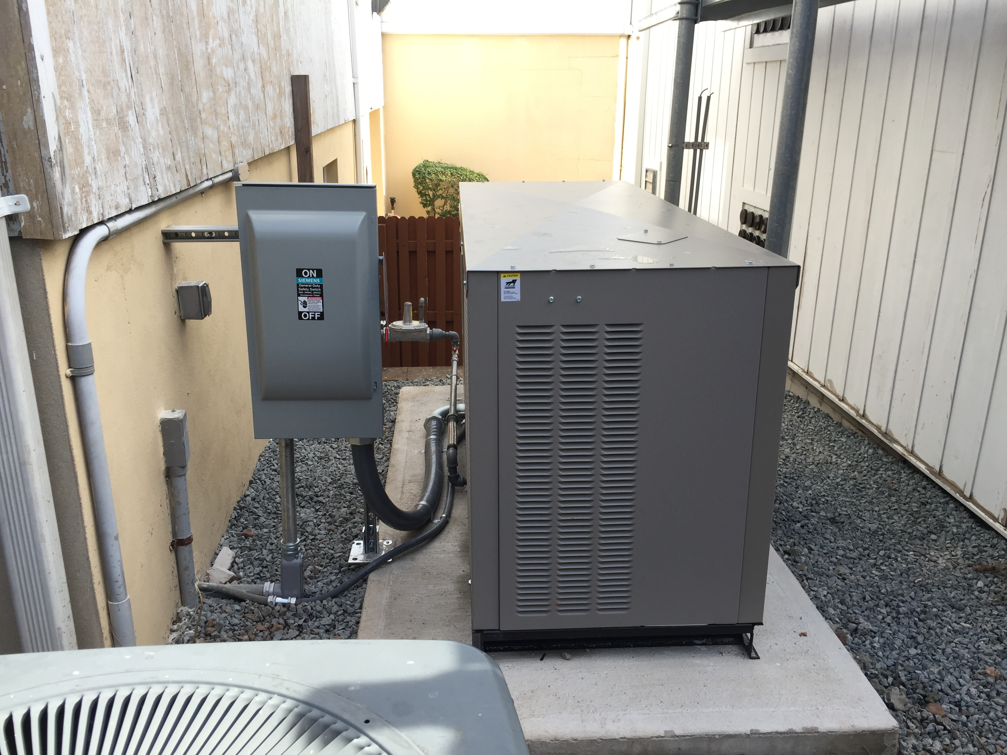 Installation of a 60kw commercial Kohler generator - Fanwood, NJ