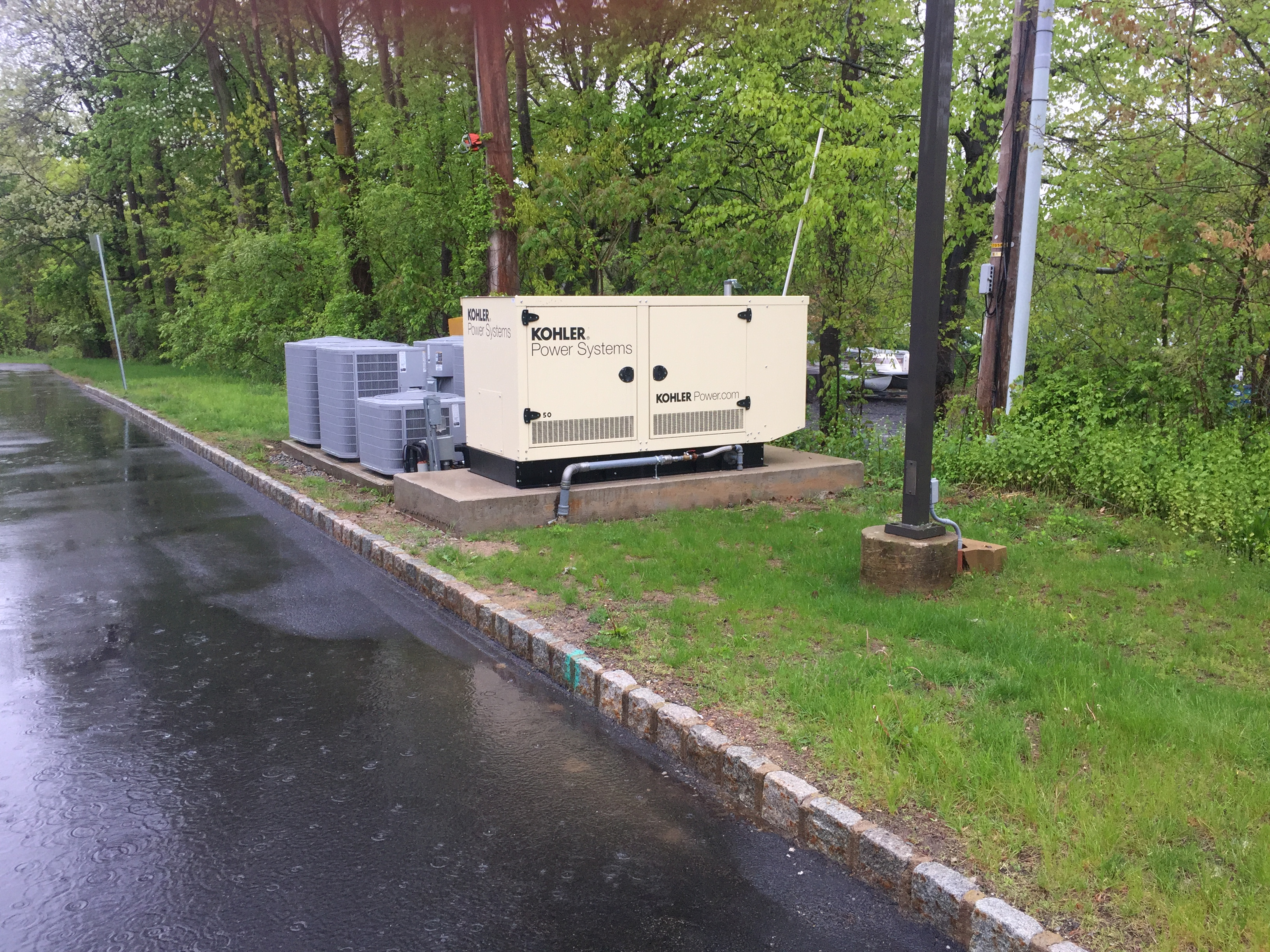 Installation of a 50kw Kohler generator - Roxbury, NJ
