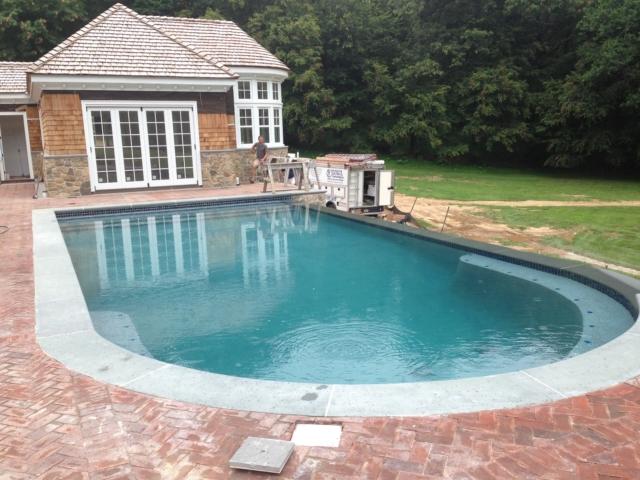 Pool Installation - Mendham, NJ
