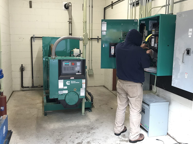 100kw Cummins open frame, commercial generator, Mendham NJ