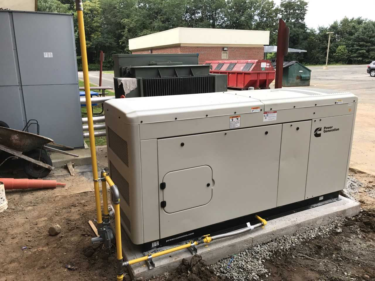 Cummins 36KW Natural Gas, Commercial Generator, Morristown, New Jersey