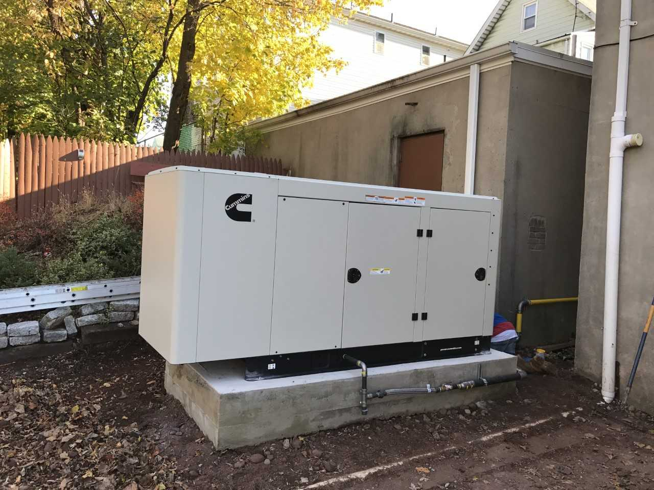 Cummins 60 KW Natural Gas Commercial Generator East Newark New Jersey