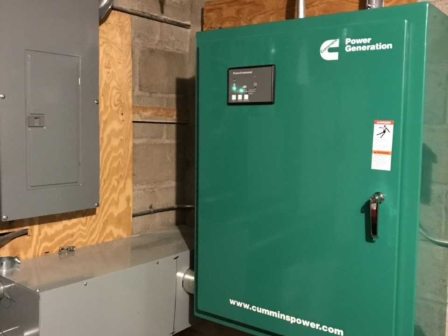 Cummins 60 KW Generator Transfer Switch, East Newark, New Jersey