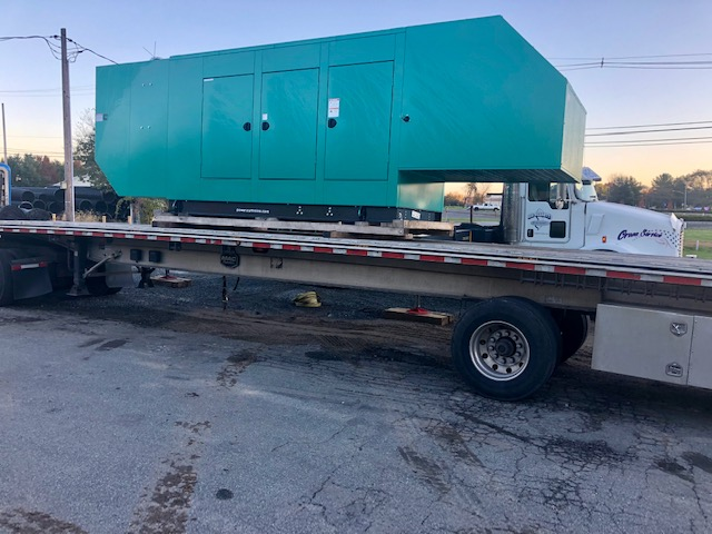 125kw Cummins Commercial Generator Install, Oxford New Jersey