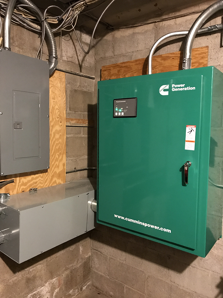 East Newark 60 KW Cummins Generator Transfer Switch