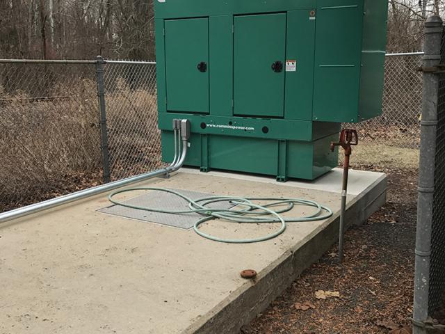 Peapack & Gladstone Pump Station 50KW Cummins Generator