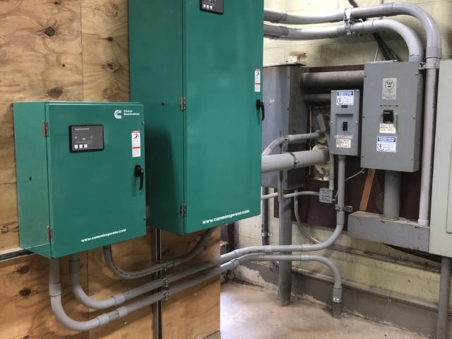 Washington Borough NJ Municipal Building Generator Transfer Switch