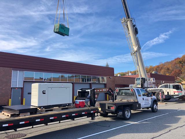 Denville, NJ Vo-Tech Cummins Generator Install