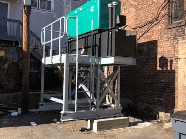 Montclair, New Jersey Ambulance Squad Cummins Diesel Generator