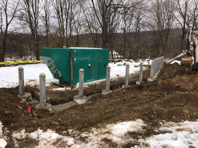 Warren County Health Department Generator & Bollard Installation