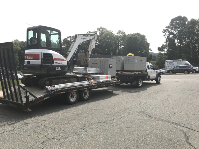 Commercial Standby Generators Delivery