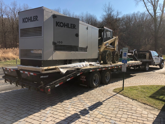 Sparta, New Jersey -100 KW Kohler Generator Install - Perona Farms,