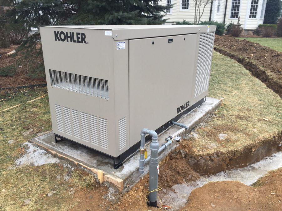48kw Kohler Residential Generator - Mendham, NJ