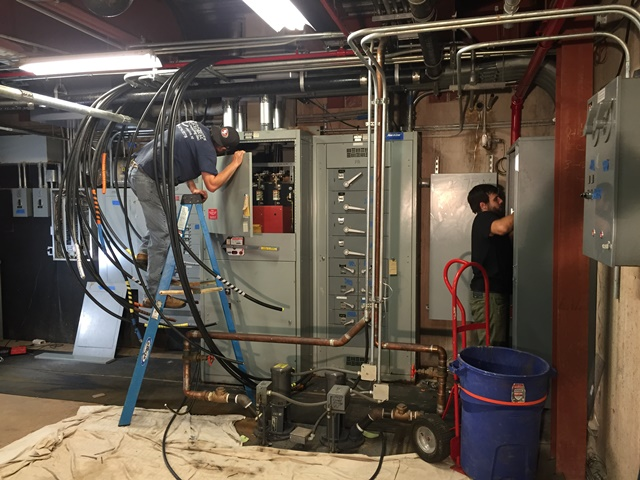 Wiring of 800 amp Kohler transfer switch - Bedminster, NJ