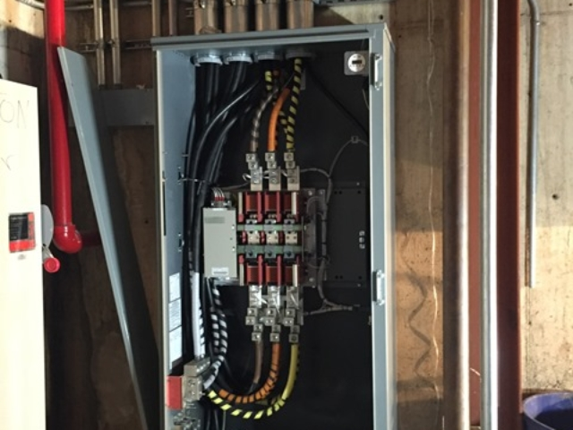 Wiring Complete for 800 amp Kohler transfer switch - Bedminster, NJ