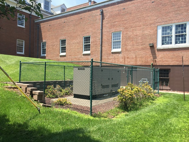 Installation of a 125kw Kohler Generator - Bedminster, NJ